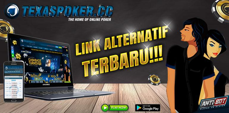 Link Alternatif terbaru Texaspoker.cc